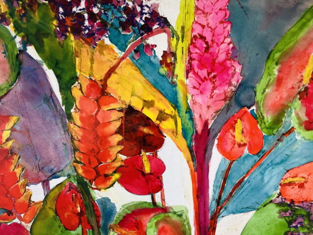 Na Lei O Hawaii by Artist Margaret Bedell