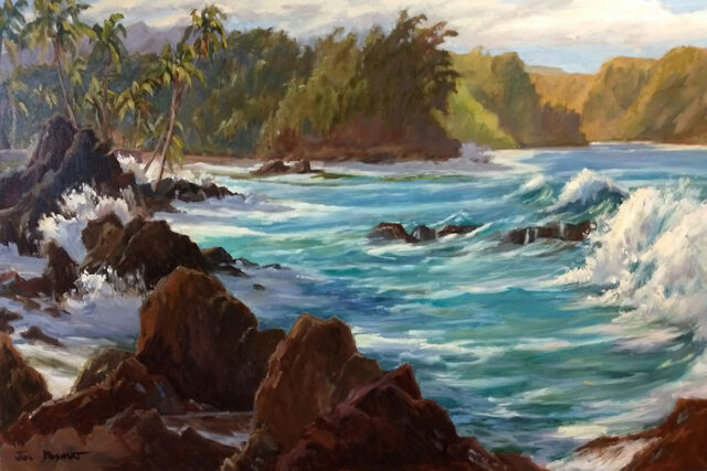 Aqua Tropics by Artist Jan Bushart
