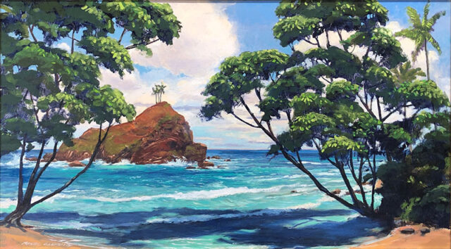 Alau Island by Artist Michael Clements