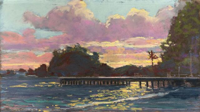 Hana Harbor by Artist Michael Clements