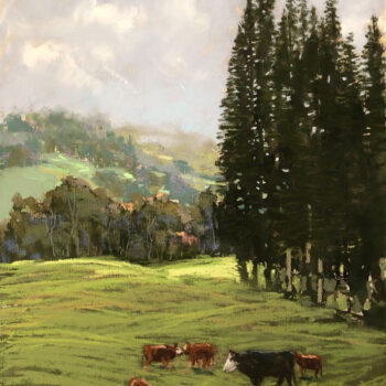 Kula Cows by Artist Michael Clements