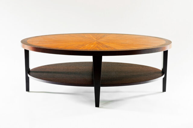 Koa and Wenge Coffee Table by Artist David Fitch