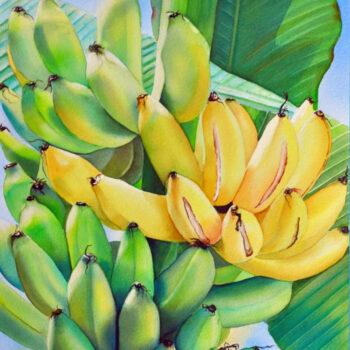 Banana Split by Artist Carmen Gardner