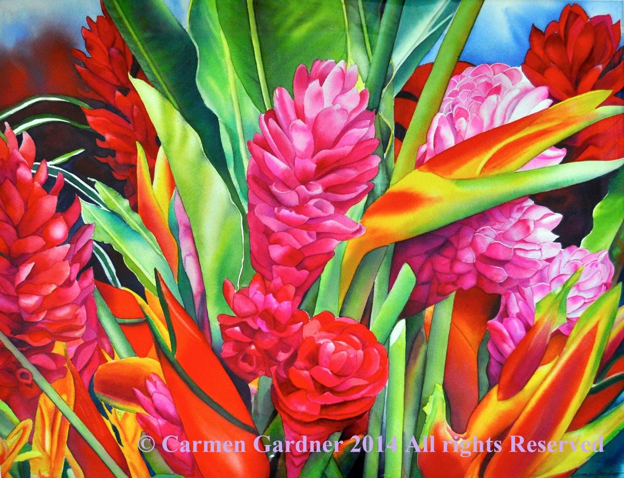 Hana Harvest by Artist Carmen Gardner