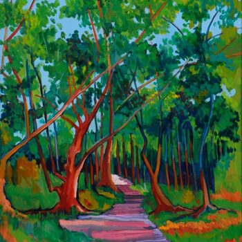 23 Trees by Artist Ed Lane