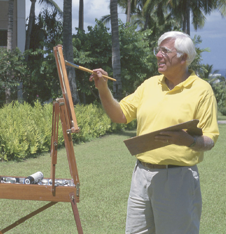 Artist Ed Lane