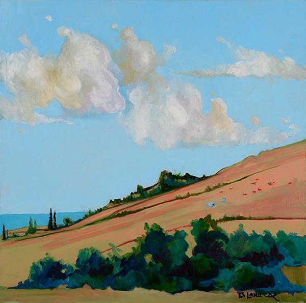 Hana Ranch by Artist Ed Lane