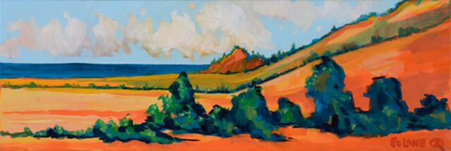 Hana Ranchland by Artist Ed Lane