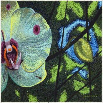 Orchid by Artist Craig Allen Lawver