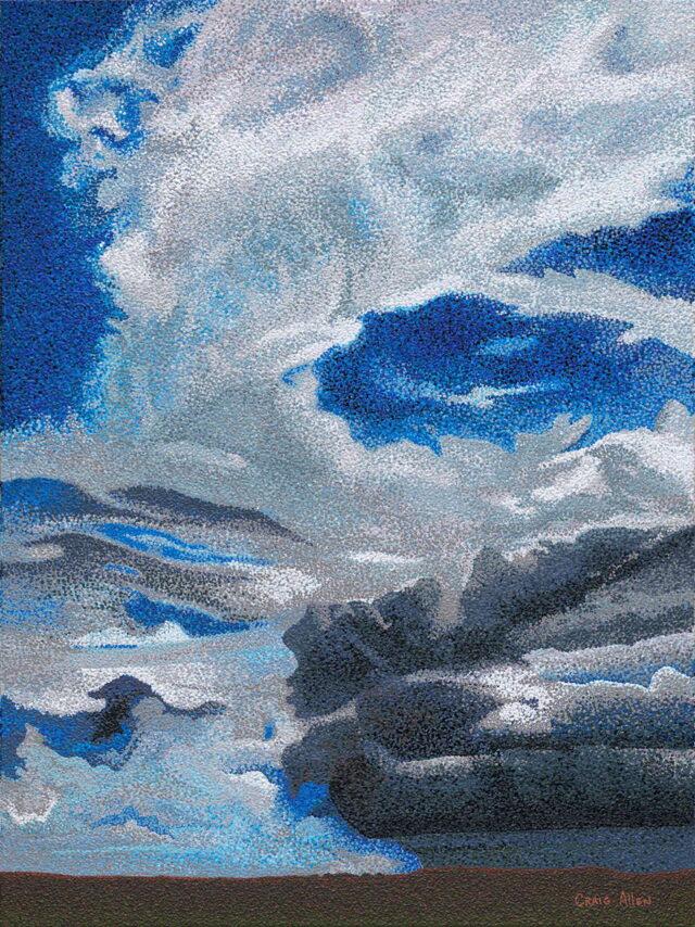 Caldera Sky by Artist Craig Allen Lawver