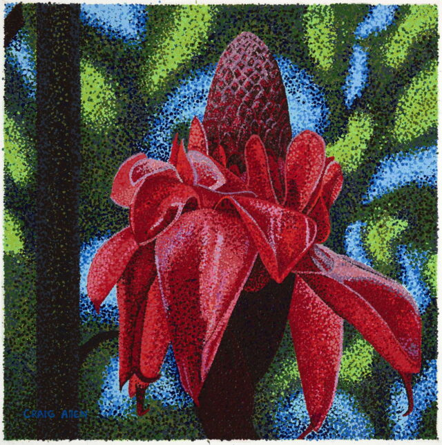 Torch Ginger by Artist Craig Allen Lawver