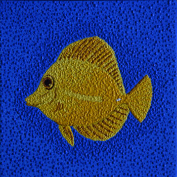 Yellow Tang Fish by Artist Craig Allen Lawver