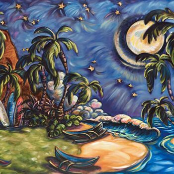 The Beach House by Artist Kim McDonald