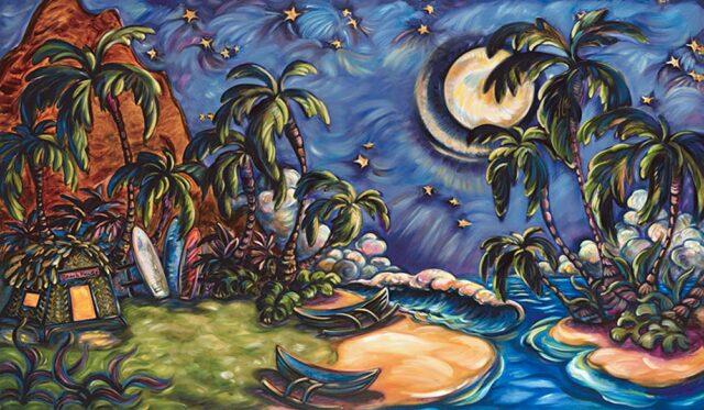 The Beach House by Artist Kim McDonald