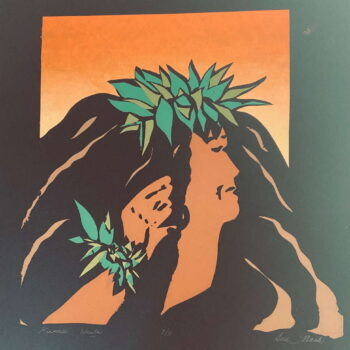 Kumu Hula by Artist Sue Nash