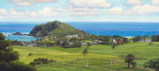 Hana Beckons Limited Edition Giclee on Canvas by Artist Gary Reed
