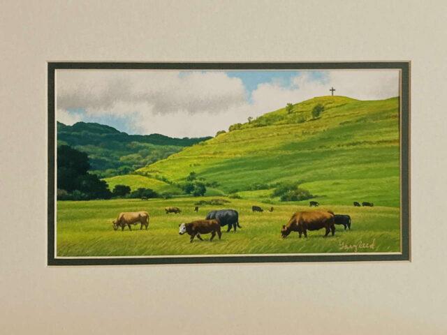 Hana Pasture by Artist Gary Reed