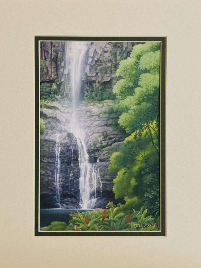 Wailua Falls by Artist Gary Reed