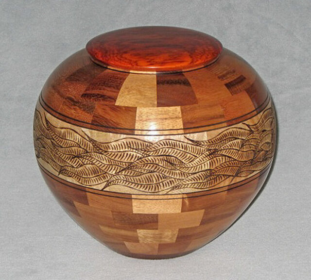 Segmented Wood Turning by Artist Gregg Smith