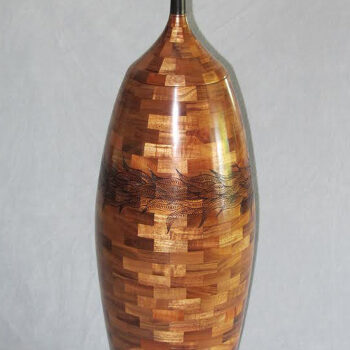 Segmented Wood Turning by Artist Gregg Smith