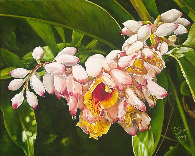 Original Oil by Artist Jan Welda Tong