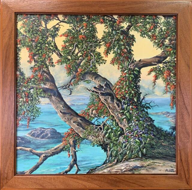Mystic Landscape by Artist George Aldrete