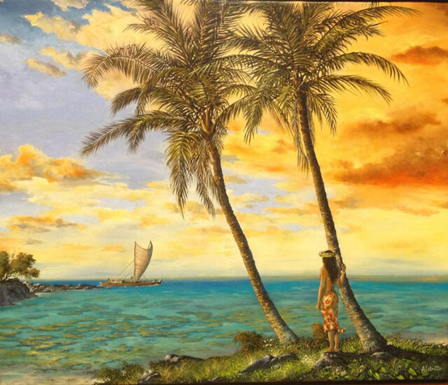Spirit of Aloha by Artist George Aldrete