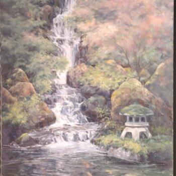 Oriental Garden I by Artist Joyce Clark