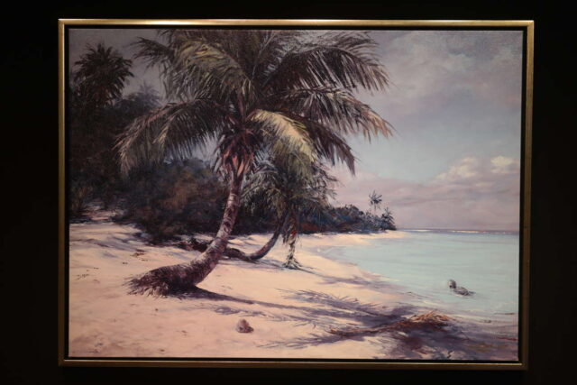 Tropical Shores by Artist Joyce Clark