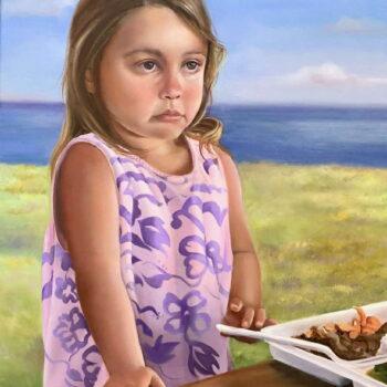 Plate Lunch by Artist Carmen Gardner