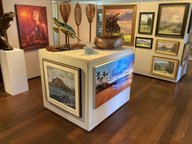 Hana Coast Gallery Carvings