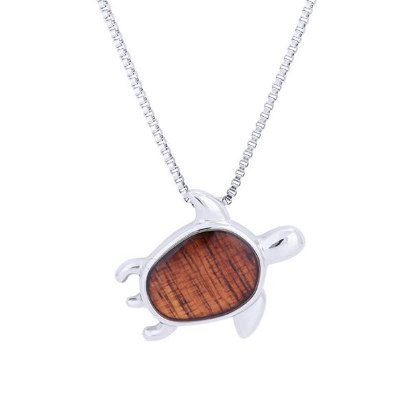 Koa Jewelry Honu Pendant
