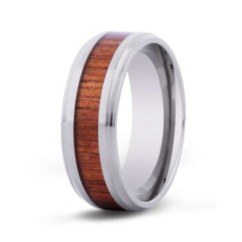 Koa Jewelry Ring Titanium Cove