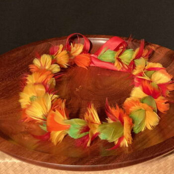 Ilima Lei by Maui Feather Artists