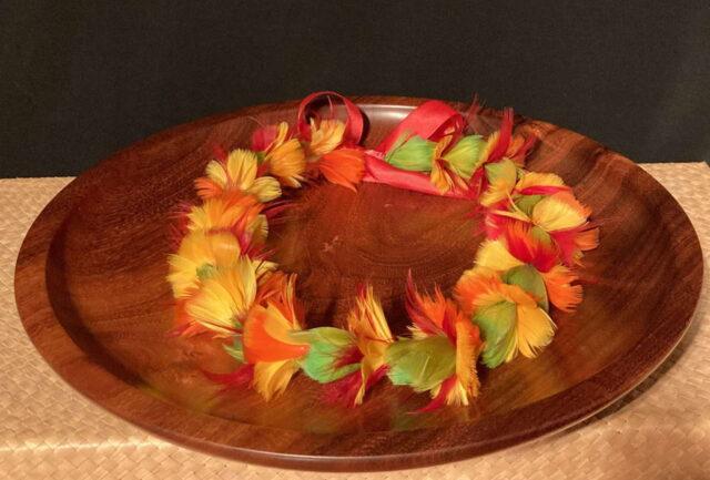 Ilima Lei by Maui Feather Artists