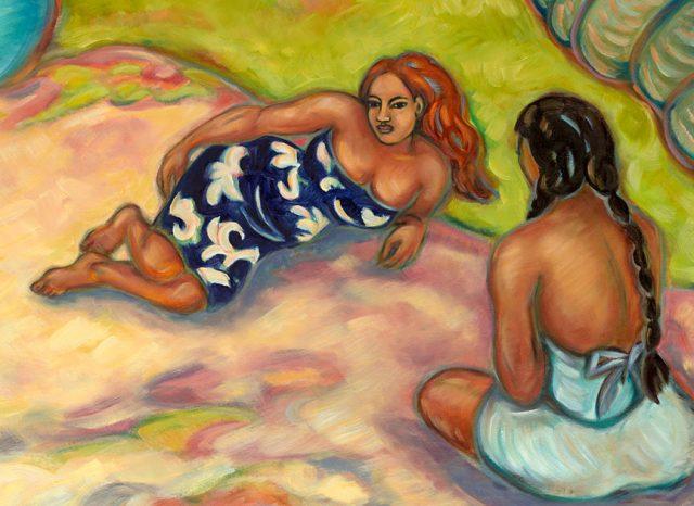 Beach Retreat by Artist Kim McDonald