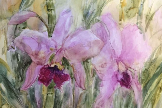 Original Watercolor by Artist Cheryl McElfresh