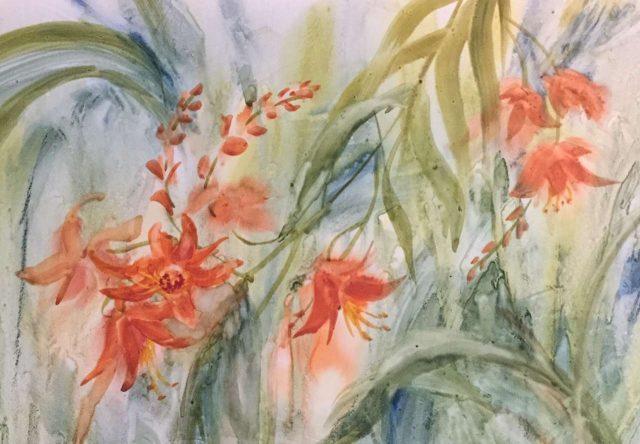 Original Watercolor by Artist Cheryl McElfresh