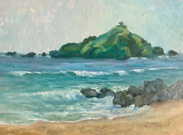 Alau Island by Artist Linda Mitchell