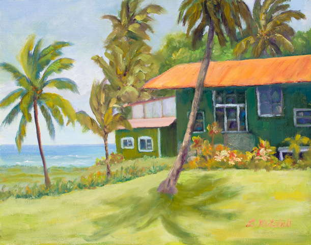 Hana Outback by Artist Linda Mitchell