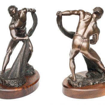 Joel Nakila Limited Edition Bronze Sculpture