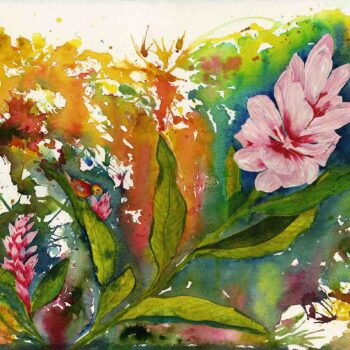 Original Watercolor by Vicky Robinson