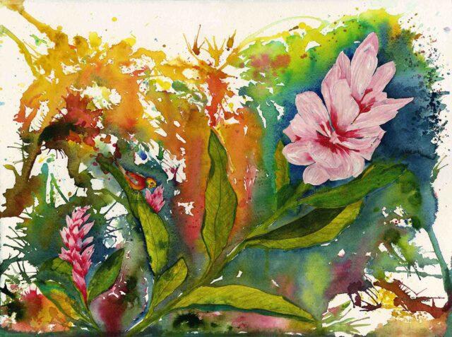 Original Watercolor by Vicky Robinson