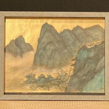 Original Watercolor by Artist Hiroko Thomson
