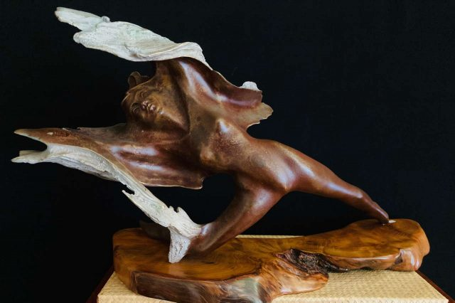 Hand Sculpted Bronze by Artist Bruce Turnbull