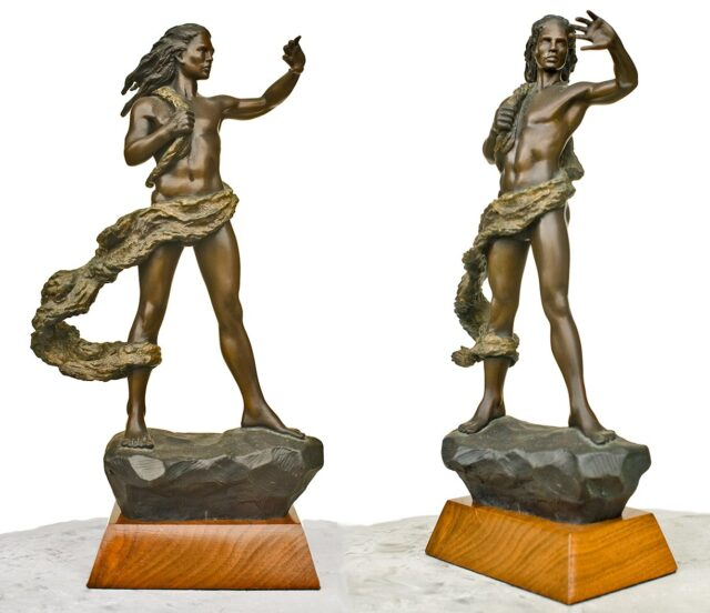 Limited Edition Bronze Sculpture by Artist Dale Zarrella