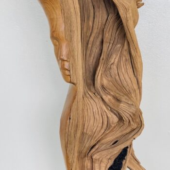 Handcarved Wood Sculpture by Dale Zarrella