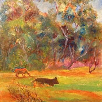 Original Oil by Artist Karen Camara
