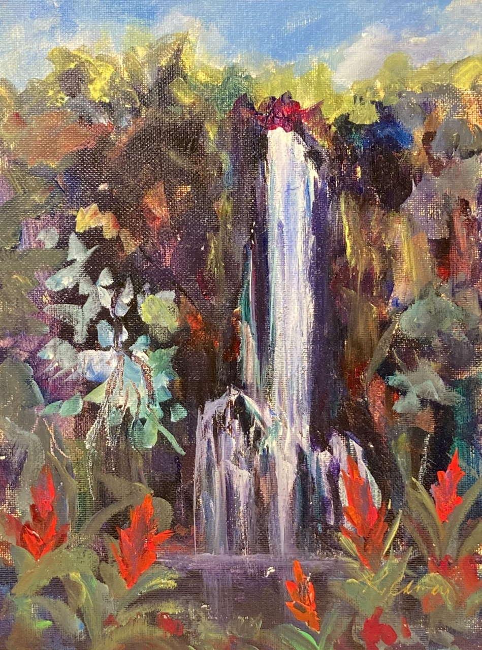 Original Acrylic by Artist Karen Camara