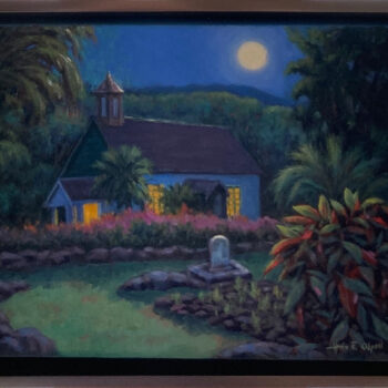 Original Oil on Canvas by Artist Hans Olson
